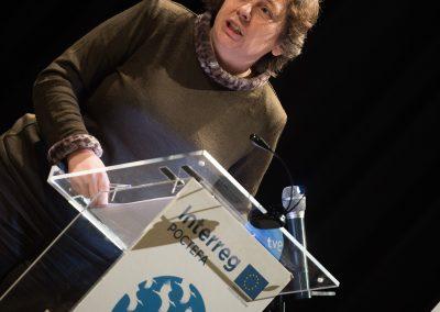 Isabel Elizalde. Consejera de Desarrollo Rural, Medio Ambiente y Administración Local